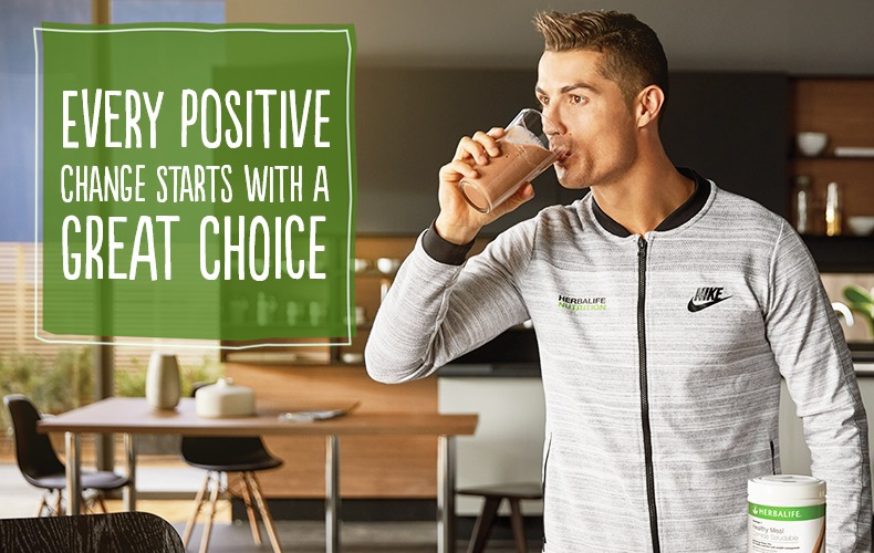 Cristiano Ronaldo - why he uses and recommends Herbalife CR7